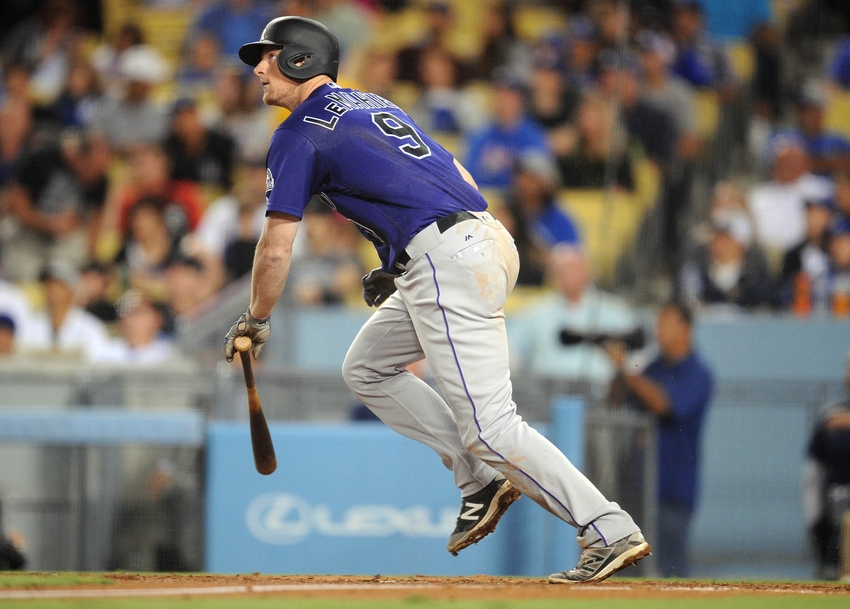 Lemahieu Mlb Colorado Rockies Los Angeles Dodgers Selecting  Time Man Roster